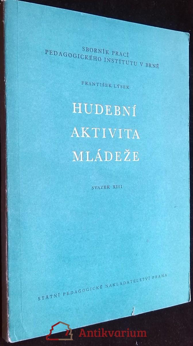 antikvární kniha Hudební aktivita mládeže, 1963