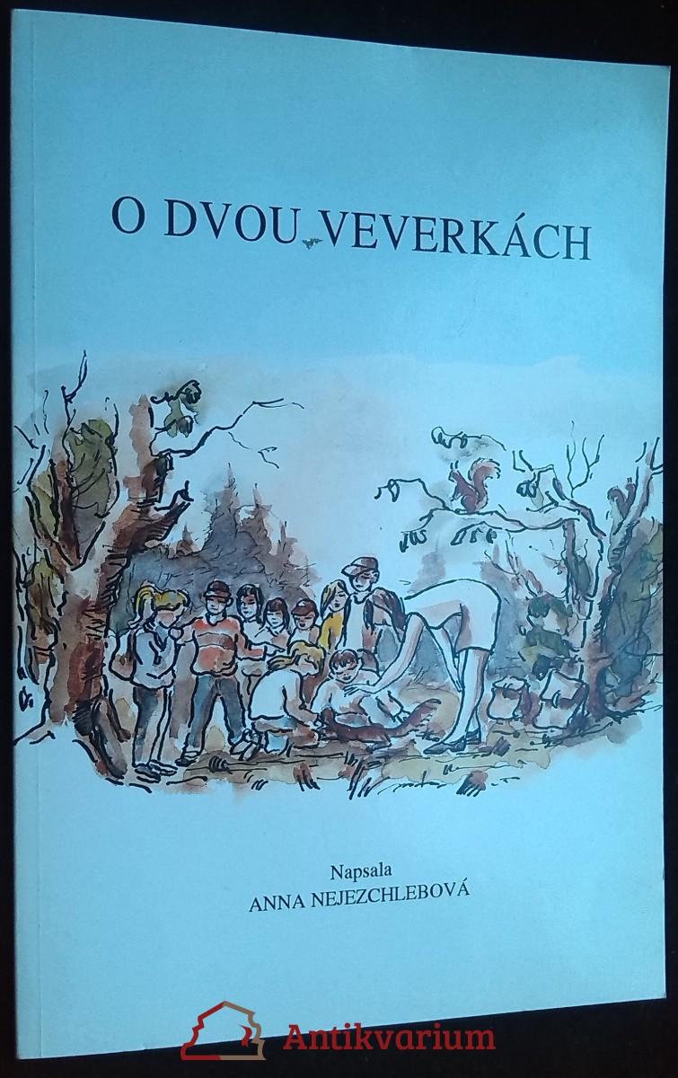 antikvární kniha O dvou veverkách, 1995