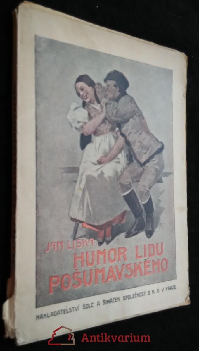 antikvární kniha Humor lidu pošumavského, neuveden