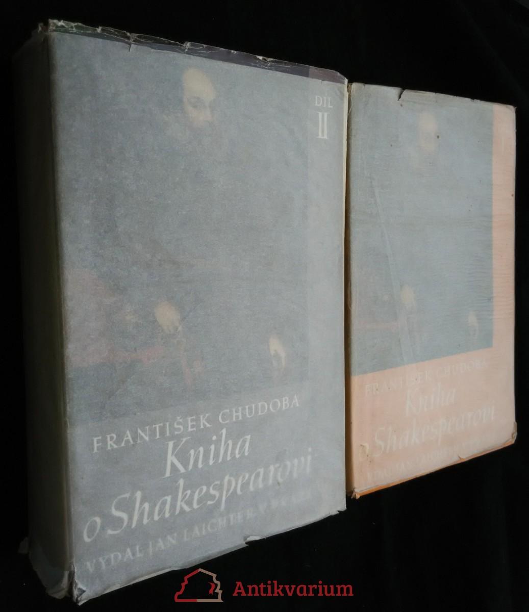 antikvární kniha Kniha o Shakespearovi. Díl I.-II., 1941- 1943