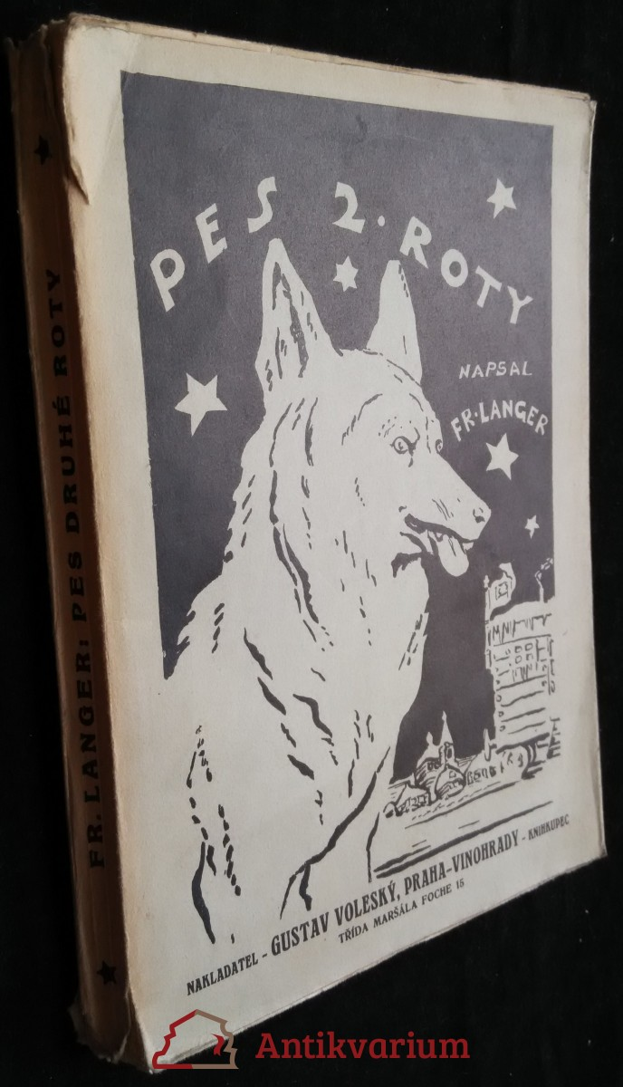 antikvární kniha Pes 2. roty, 1932