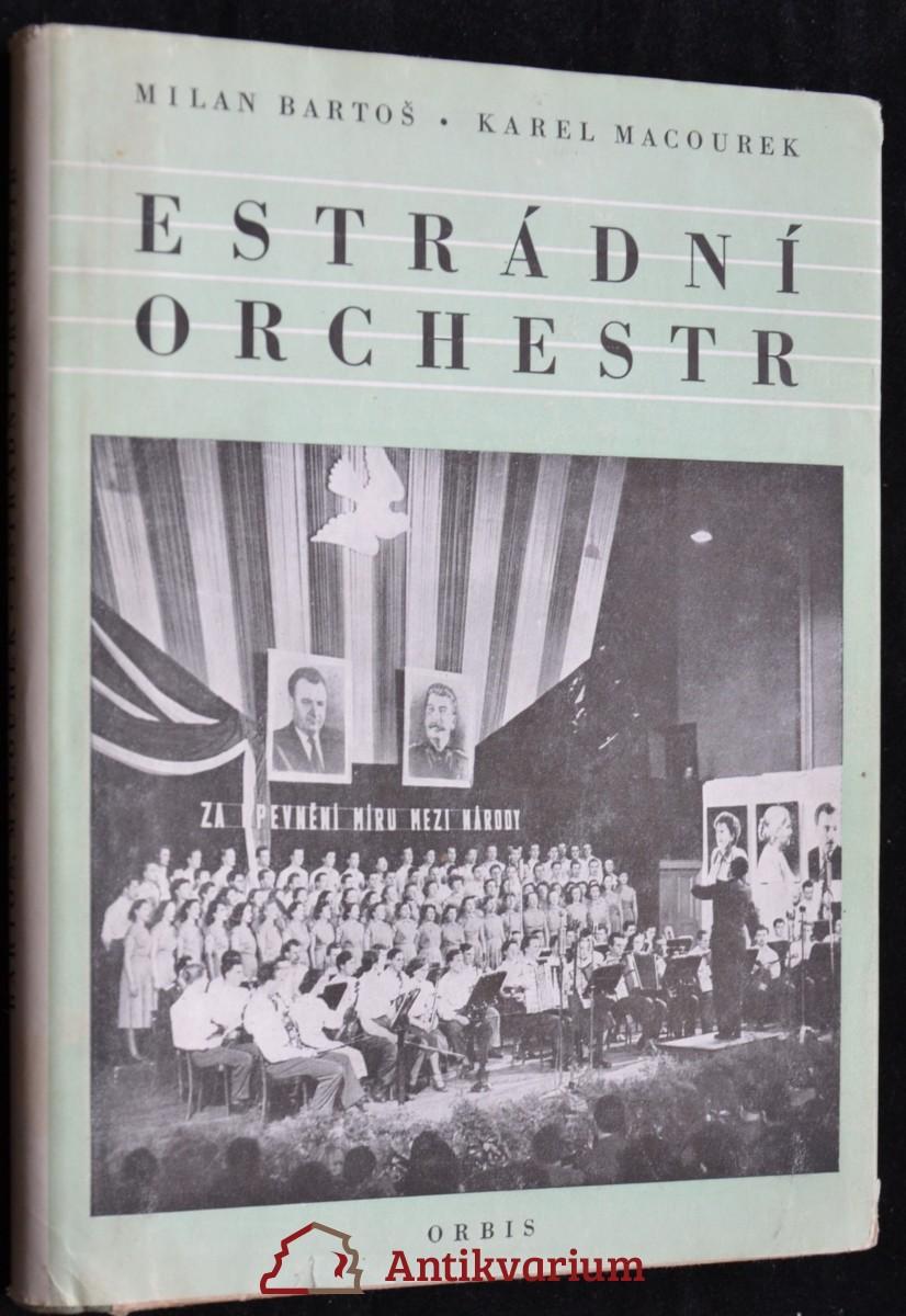 antikvární kniha Estrádní orchestr, 1954