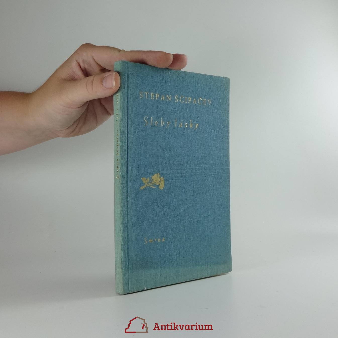 antikvární kniha Slohy lásky, 1955