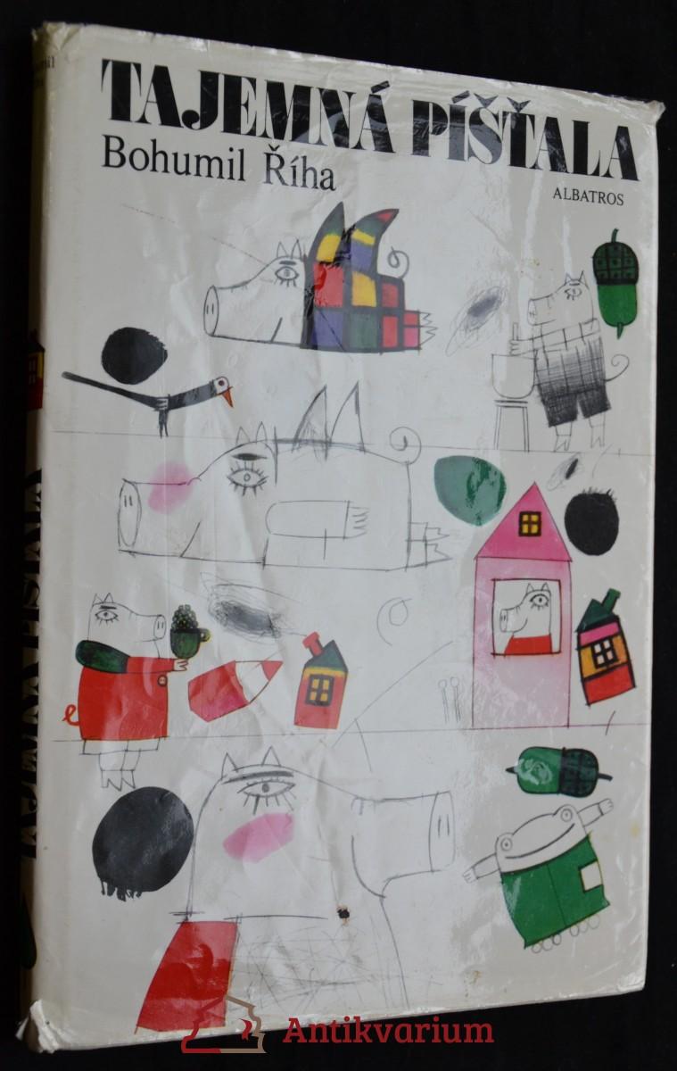 antikvární kniha Tajemná píšťala, 1990