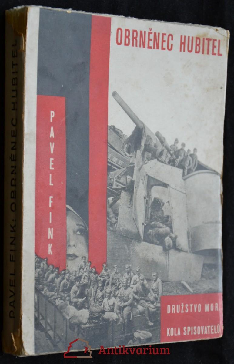 antikvární kniha Obrněnec hubitel,