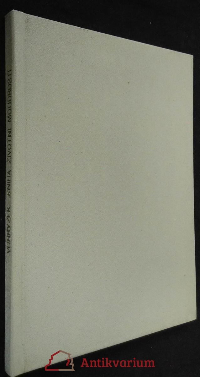 antikvární kniha Kniha životní moudrosti, 1925