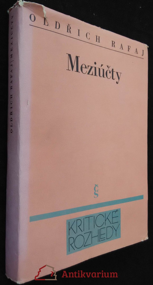 antikvární kniha Meziúčty, 1989