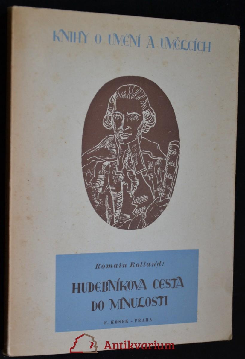 antikvární kniha Hudebníkova cesta do minulosti, 1946