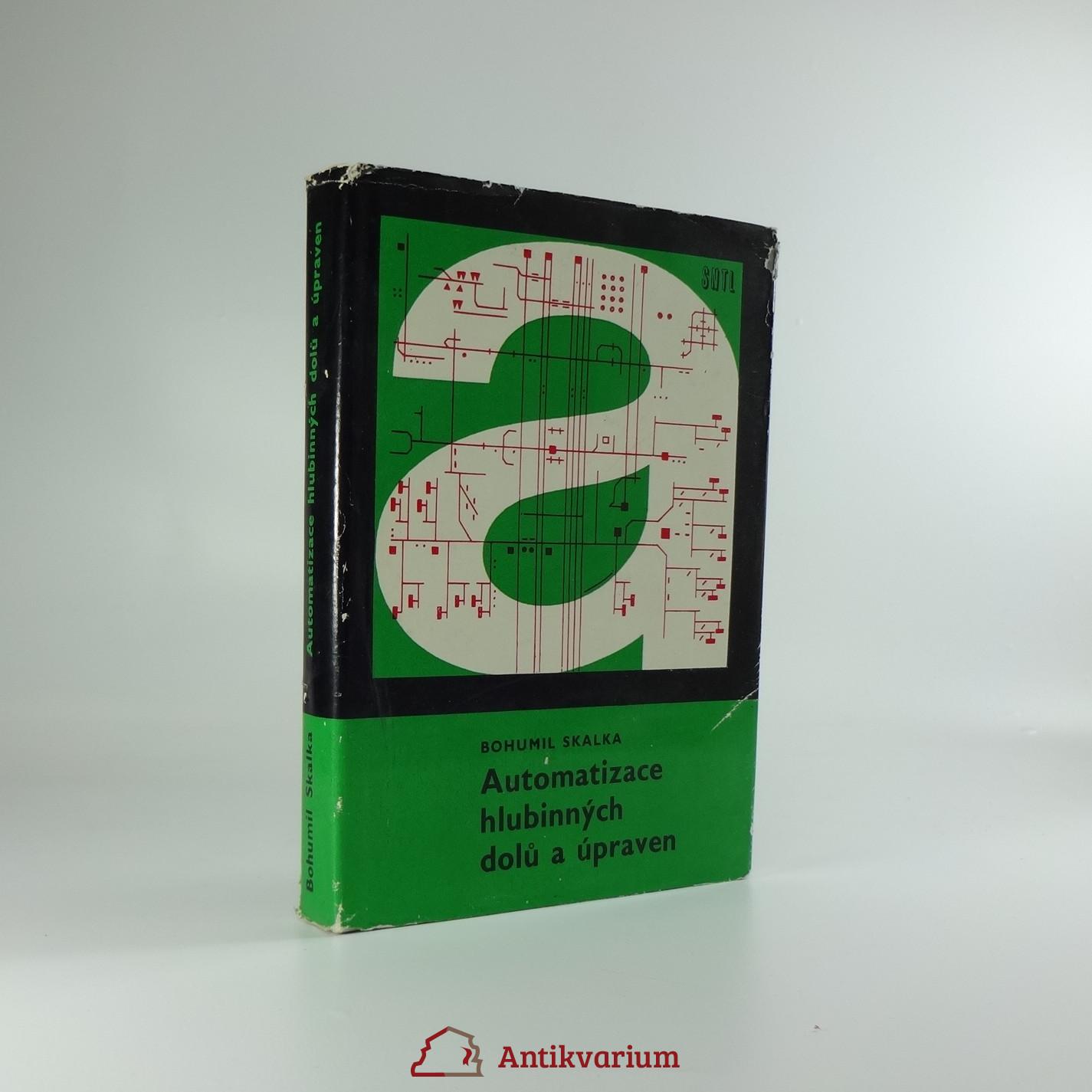 antikvární kniha Automatizace hlubinných dolů a úpraven : Určeno [též] studentům stř. a vys. škol hornických, 1970