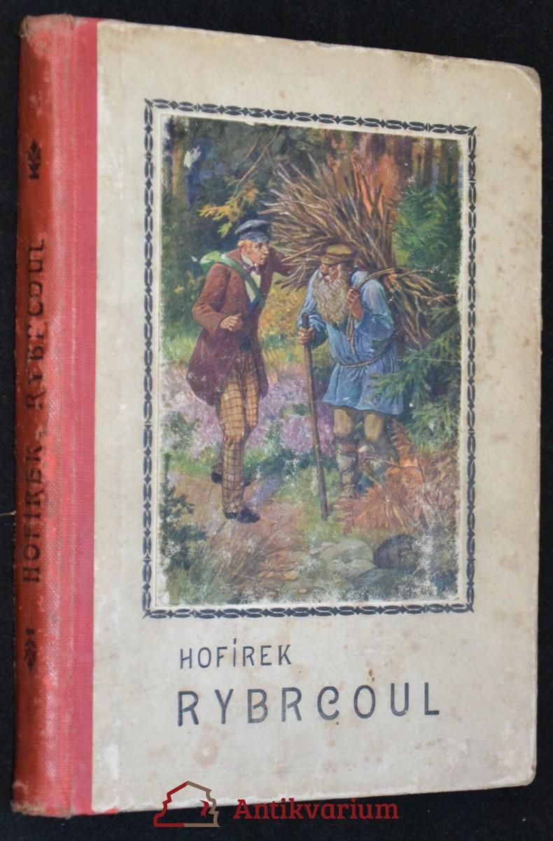antikvární kniha Rybrcoul, neuveden