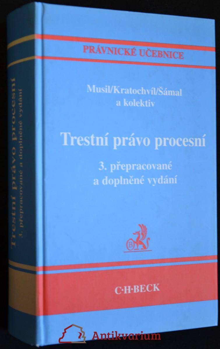antikvární kniha Trestní právo procesní, 2007