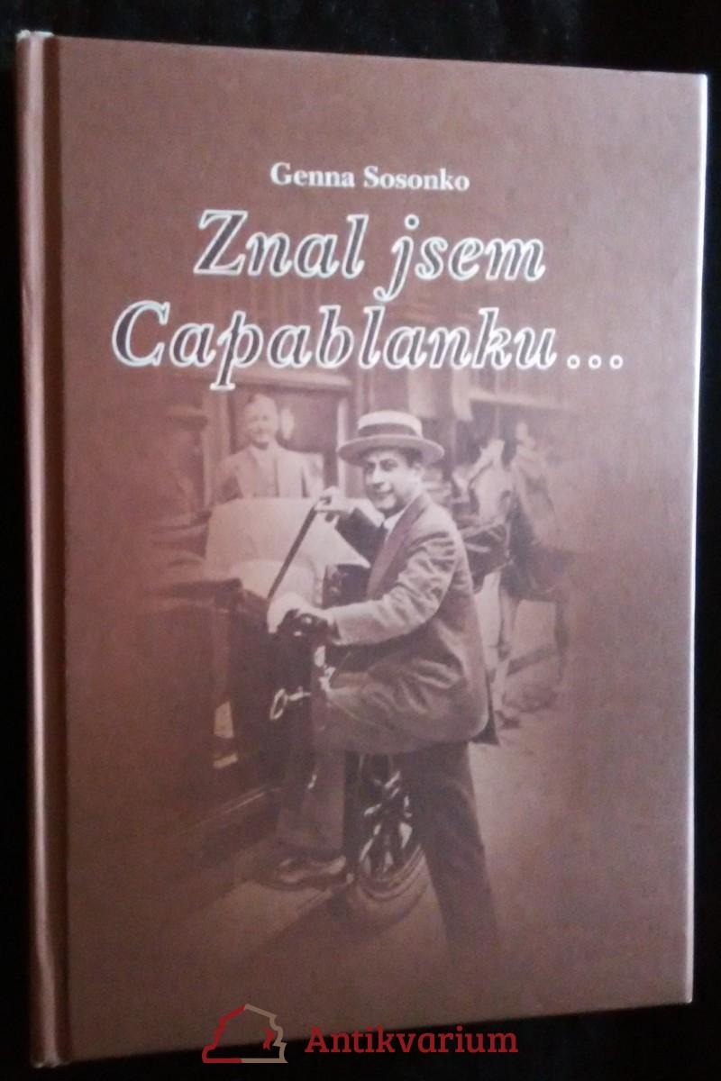 antikvární kniha Znal jsem Capablanku..., 2001