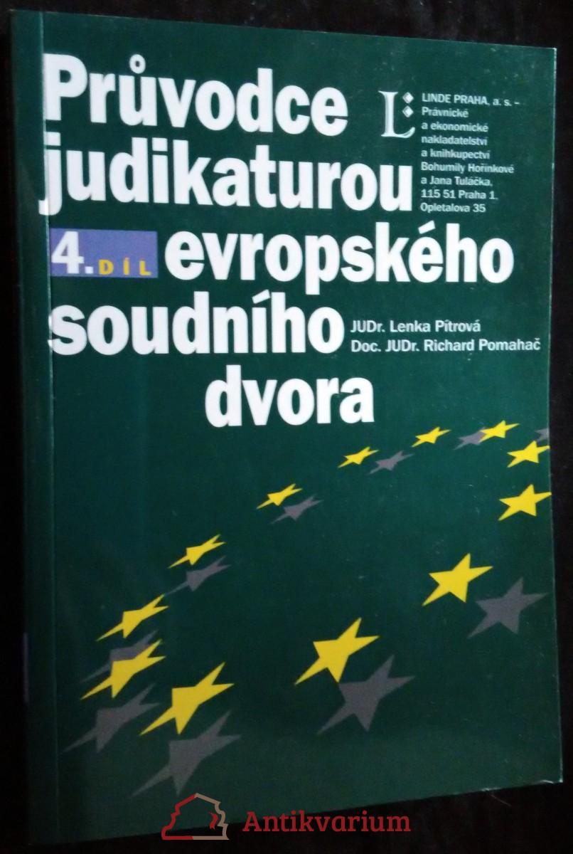 antikvární kniha Průvodce judikaturou Evropského soudního dvora, 2000-