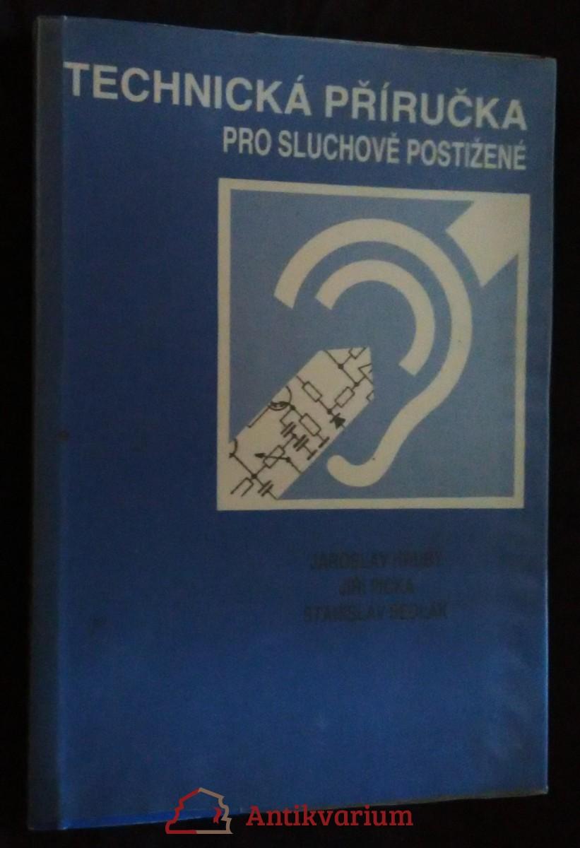 antikvární kniha Technická příručka pro sluchově postižené, 1987