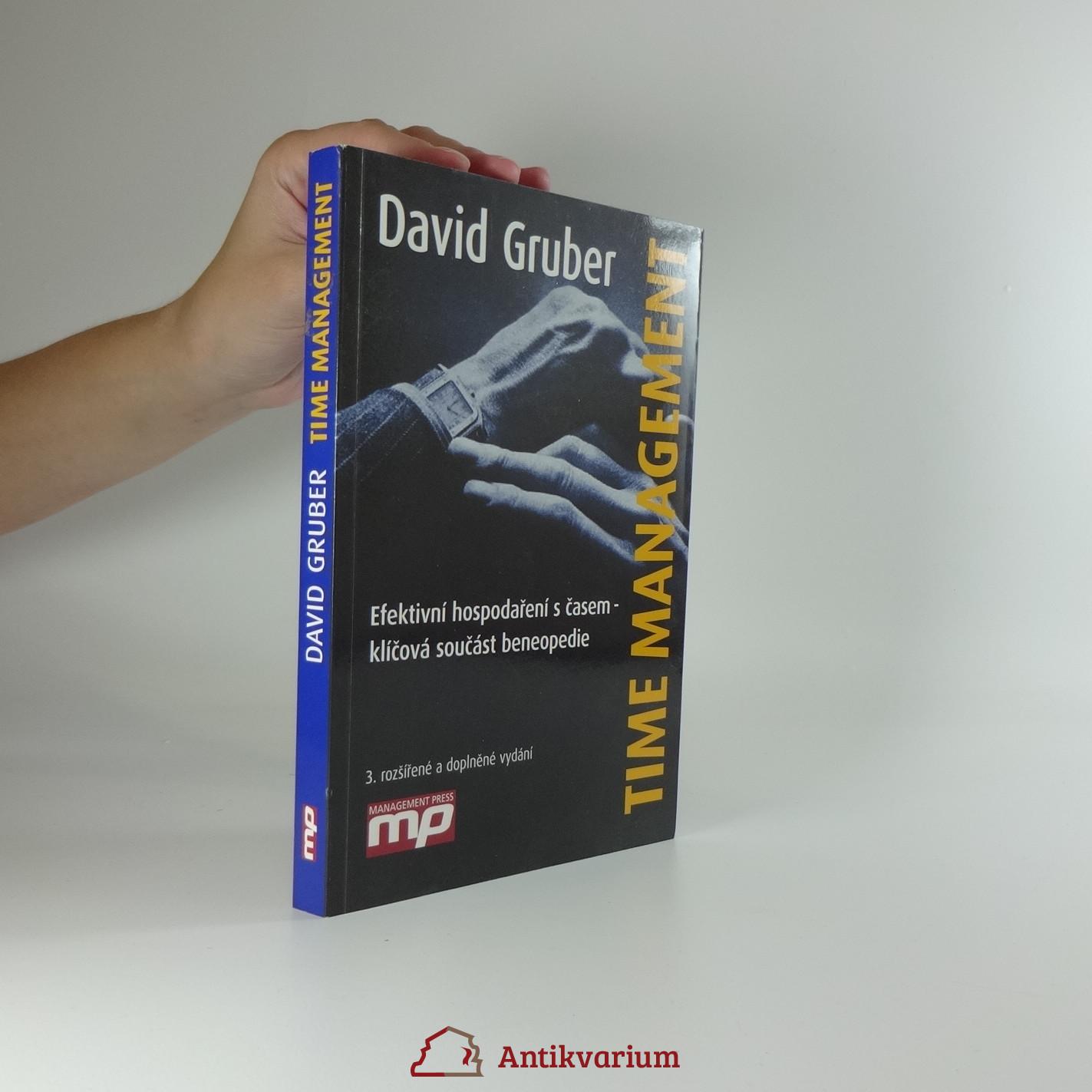 antikvární kniha Time management : efektivní hospodaření s časem - klíčová součást beneopedie, 2012