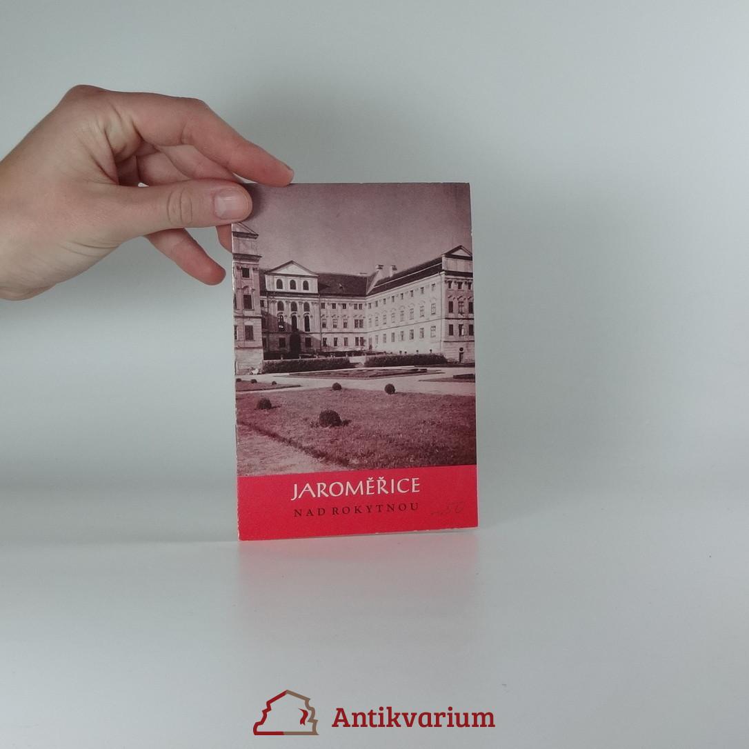 antikvární kniha Jaroměřice nad Rokytnou, 1965
