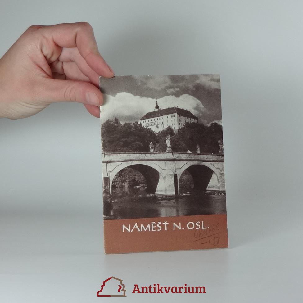antikvární kniha Náměšť nad Oslavou, 1968
