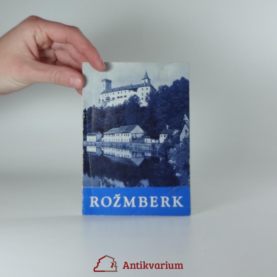 antikvární kniha Rožmberk, 1961