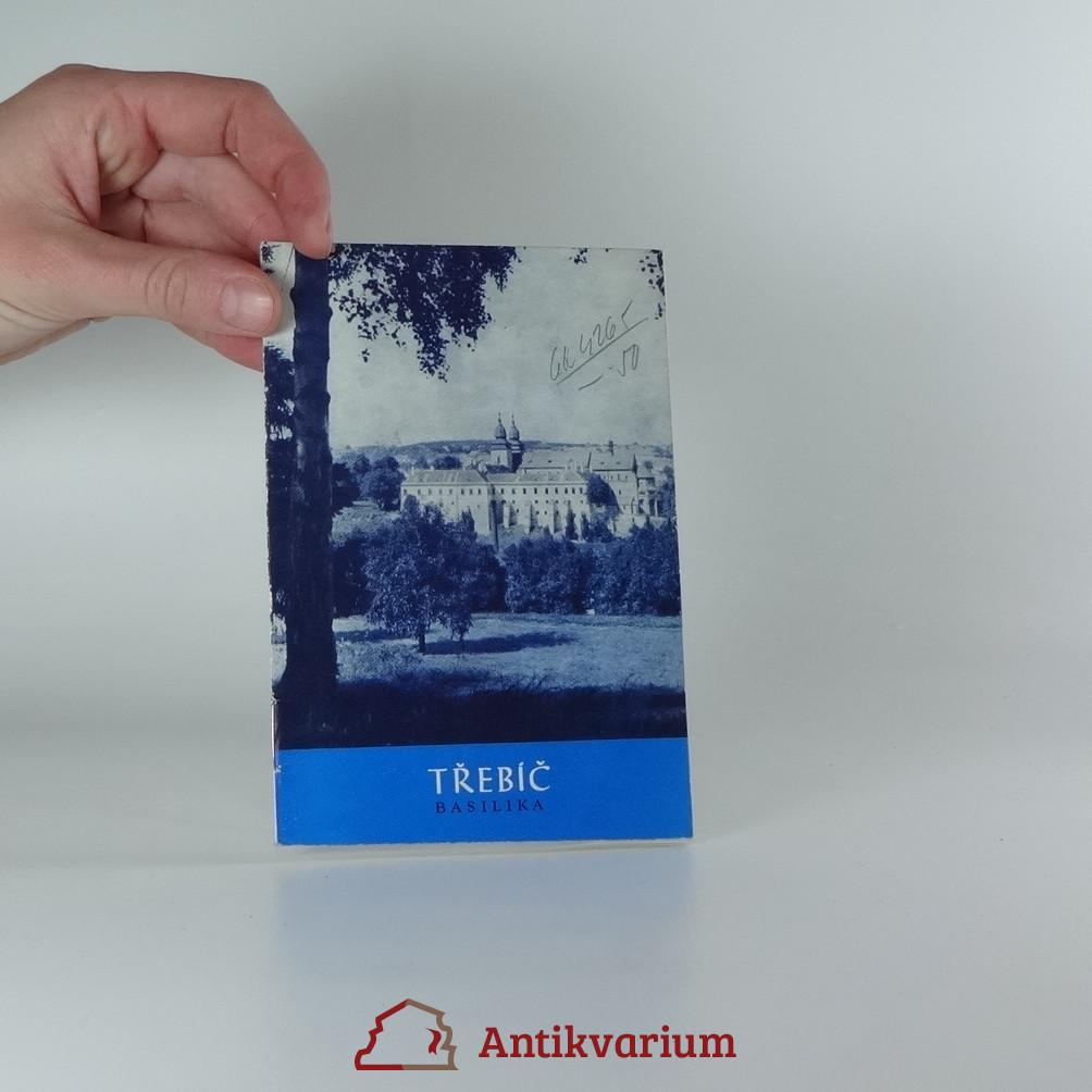 antikvární kniha Třebíč : Basilika, 1972