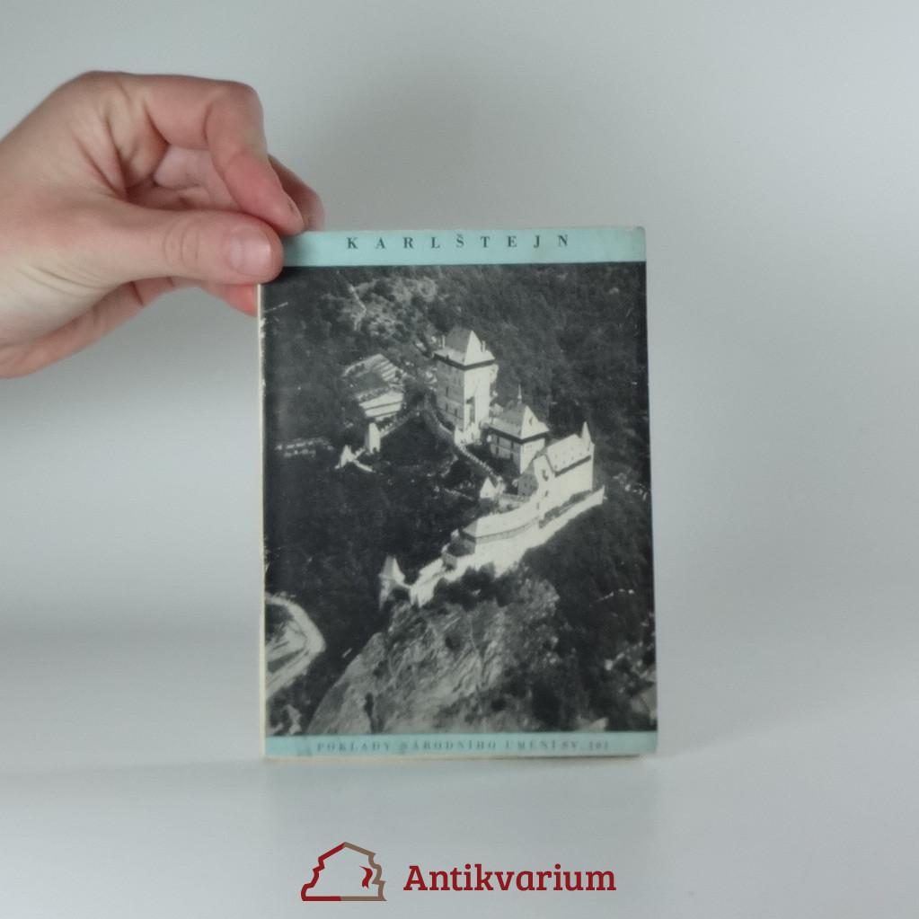 antikvární kniha Karlštejn, 1948