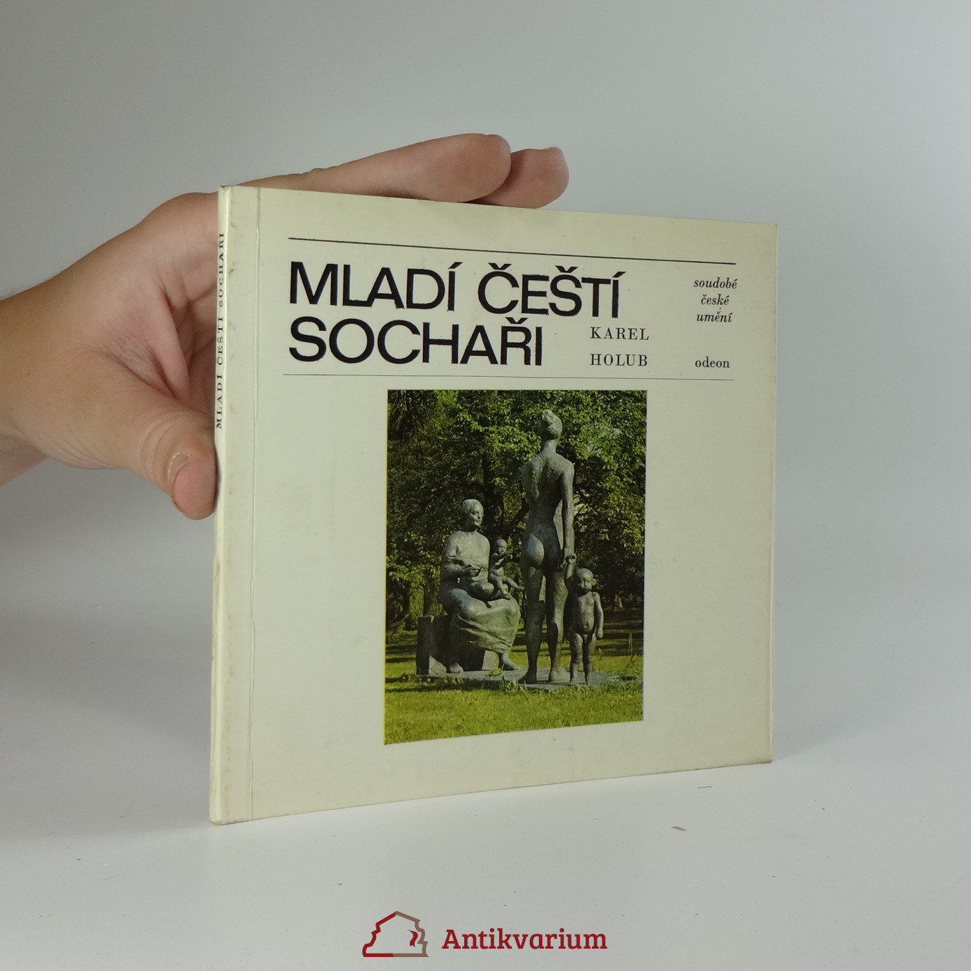 antikvární kniha Mladí čeští sochaři, 1978