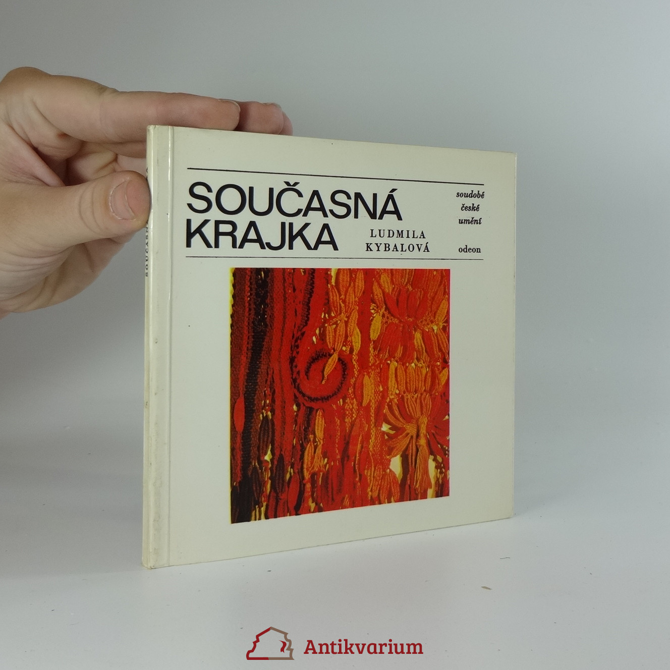 antikvární kniha Současná krajka, 1981