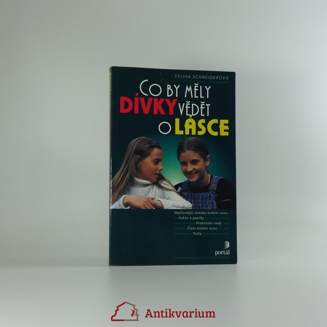 antikvární kniha Co by měly dívky vědět o lásce, 2001