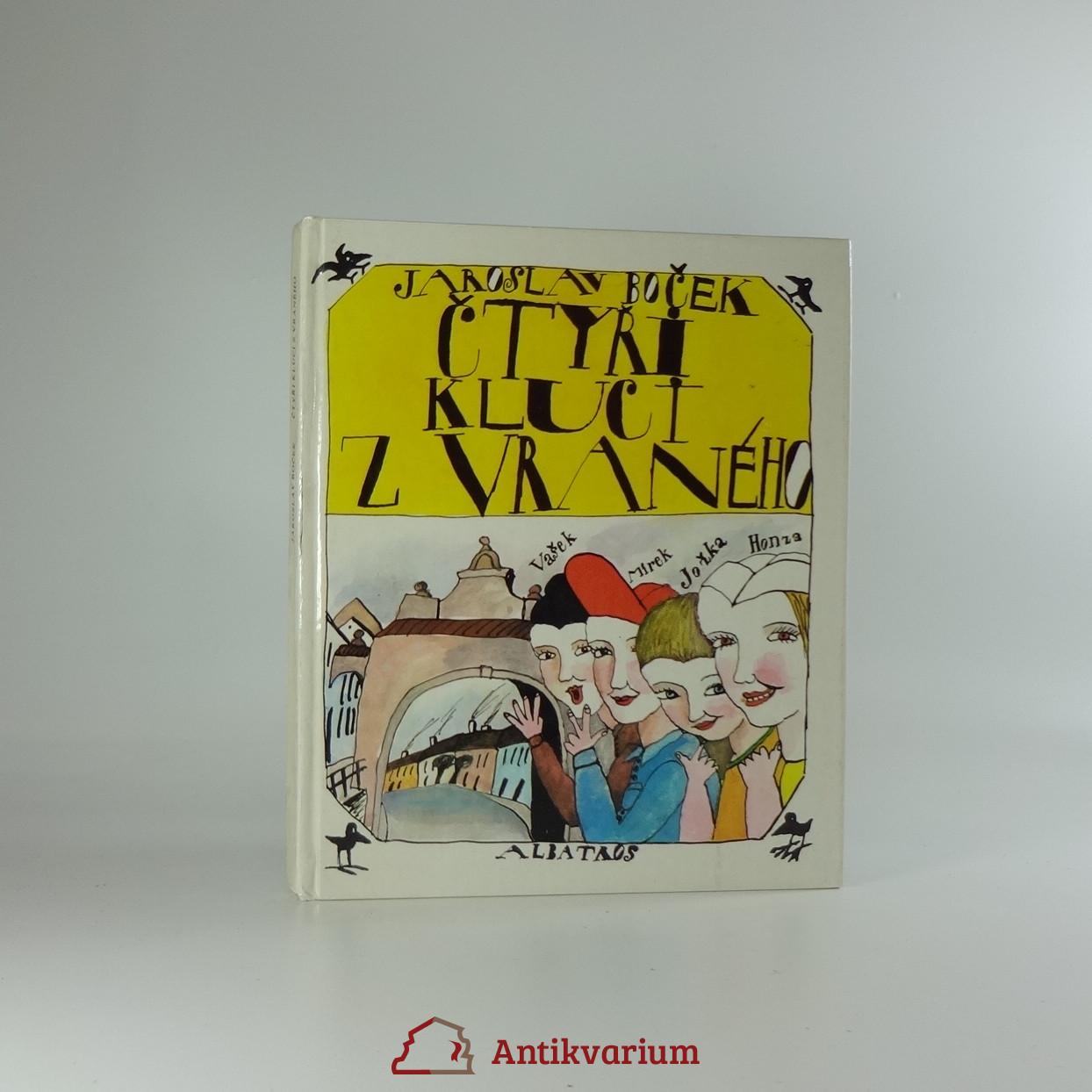 antikvární kniha Čtyři kluci z Vraného, 1982