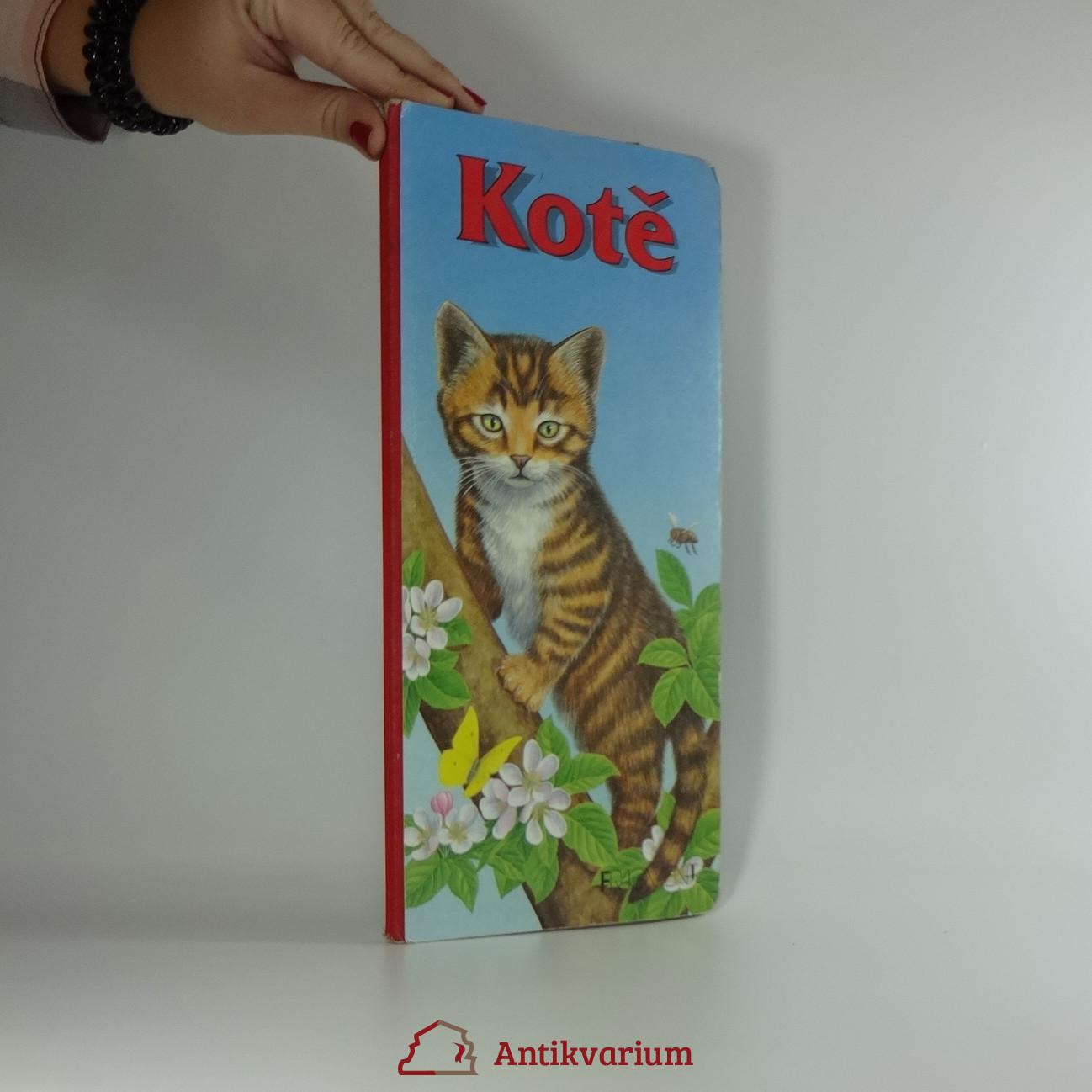 antikvární kniha Kotě, 1996