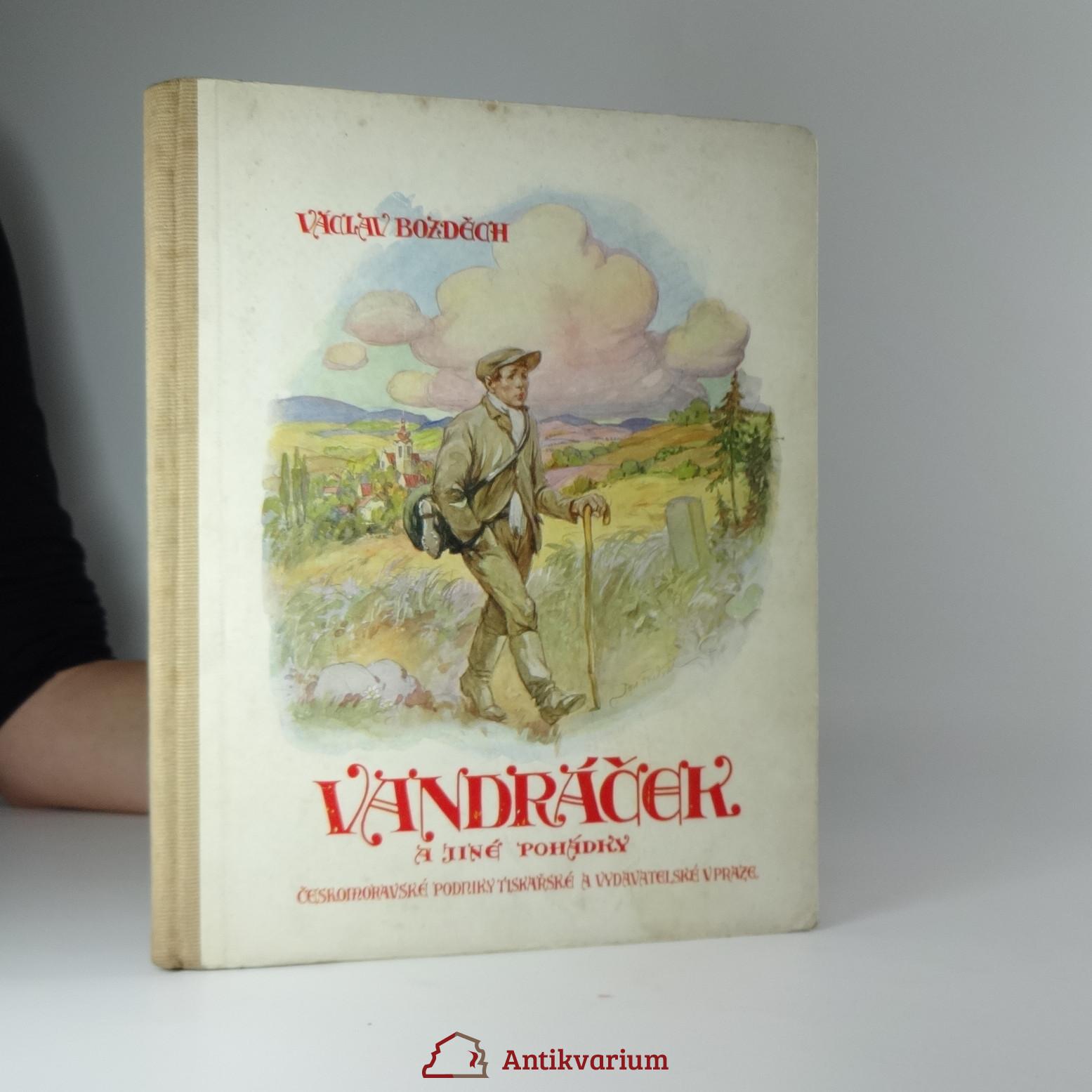 antikvární kniha Vandráček a jiné pohádky, 1928