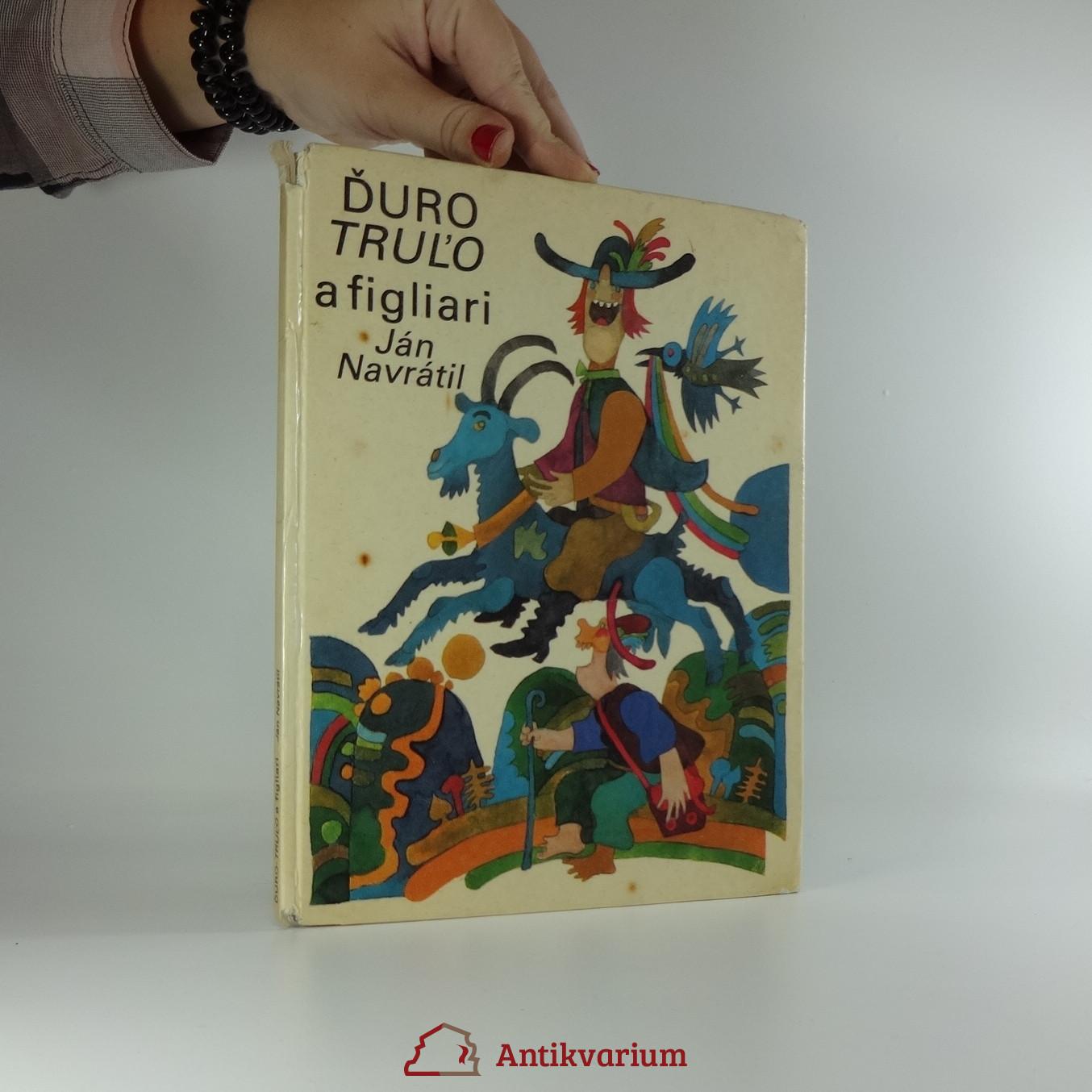 antikvární kniha Ďuro truľo a figliari, 1977