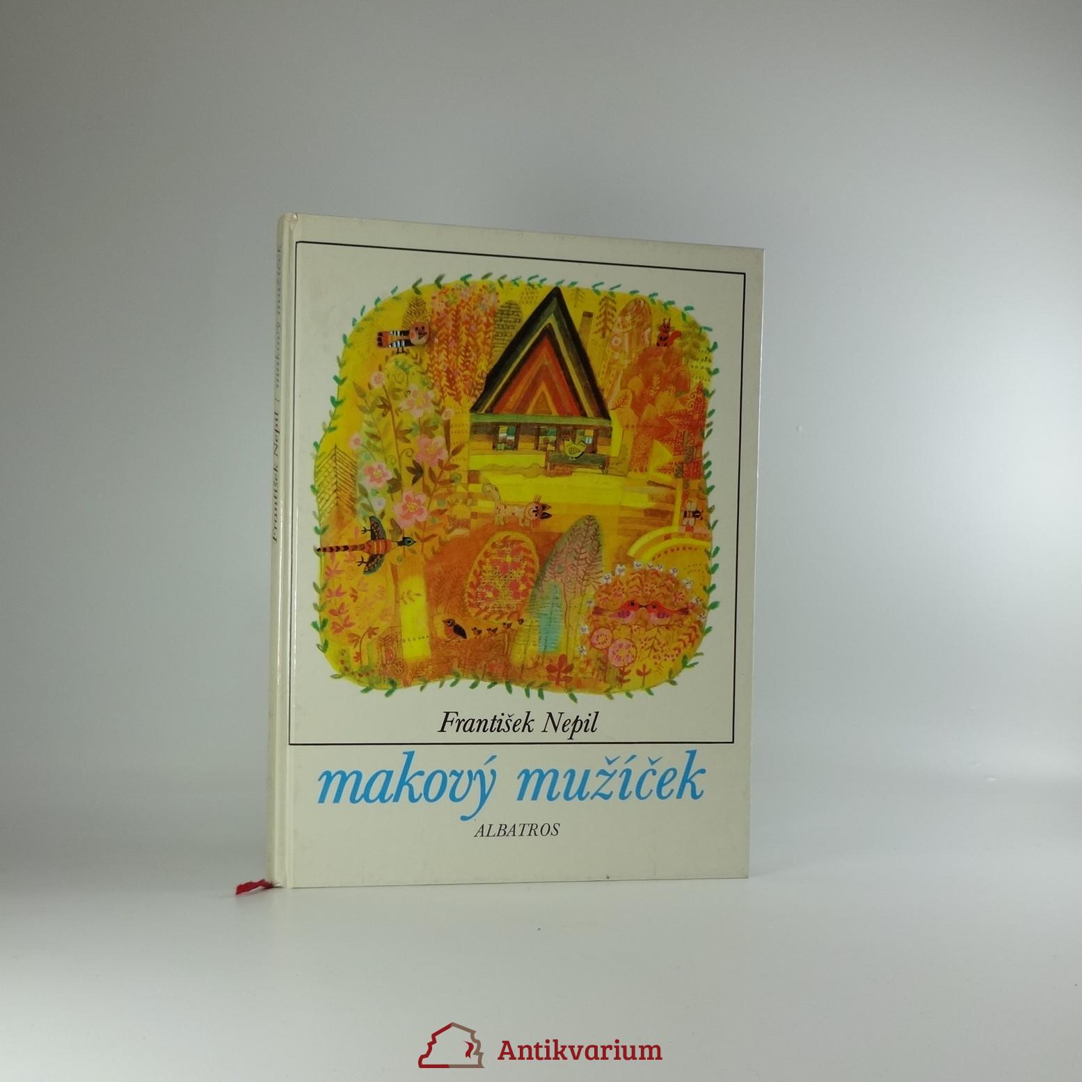antikvární kniha Makový mužíček, 1985