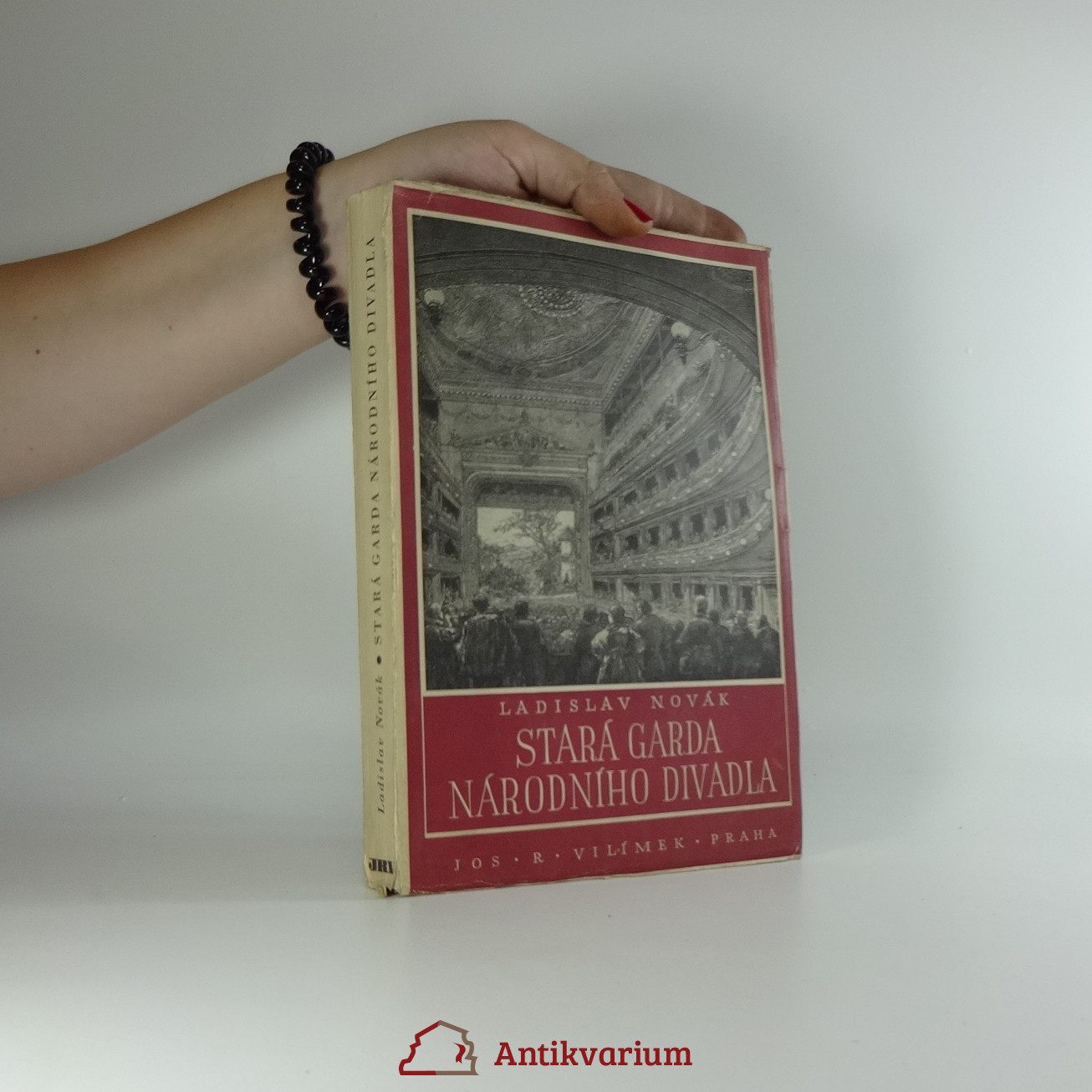 antikvární kniha Stará garda Národního divadla : činohra - opera - balet, 1944