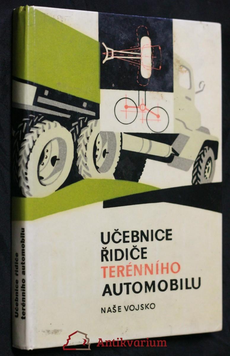 antikvární kniha Učebnice řidiče terénního automobilu, 1965