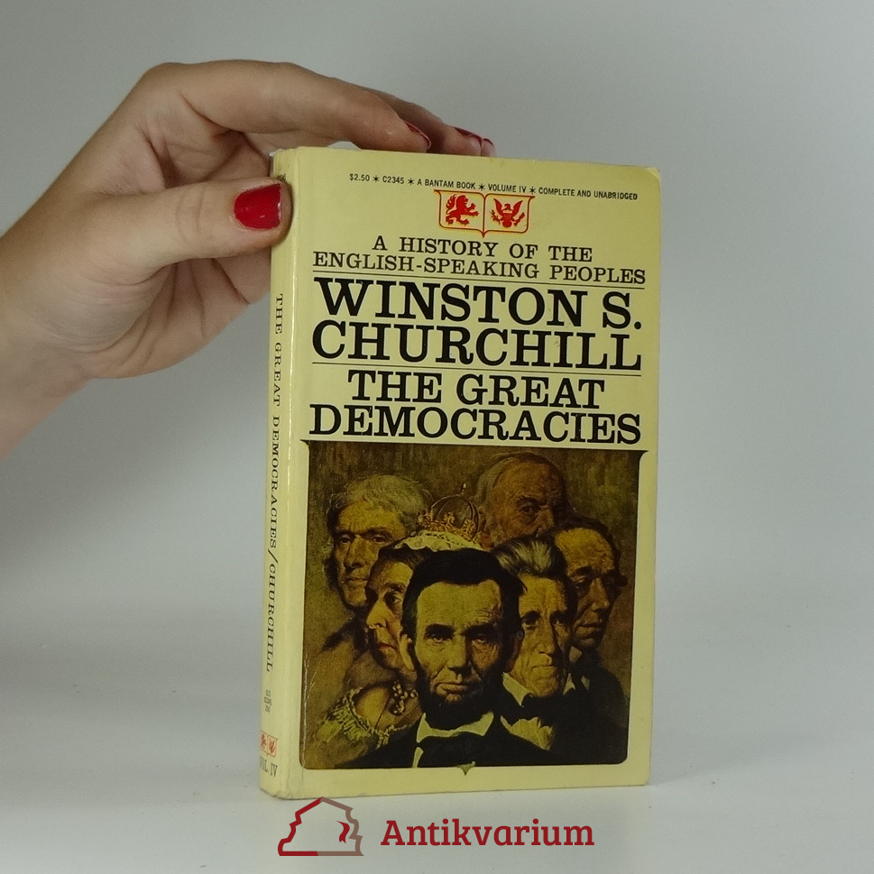 antikvární kniha The Great Democraties, 1971