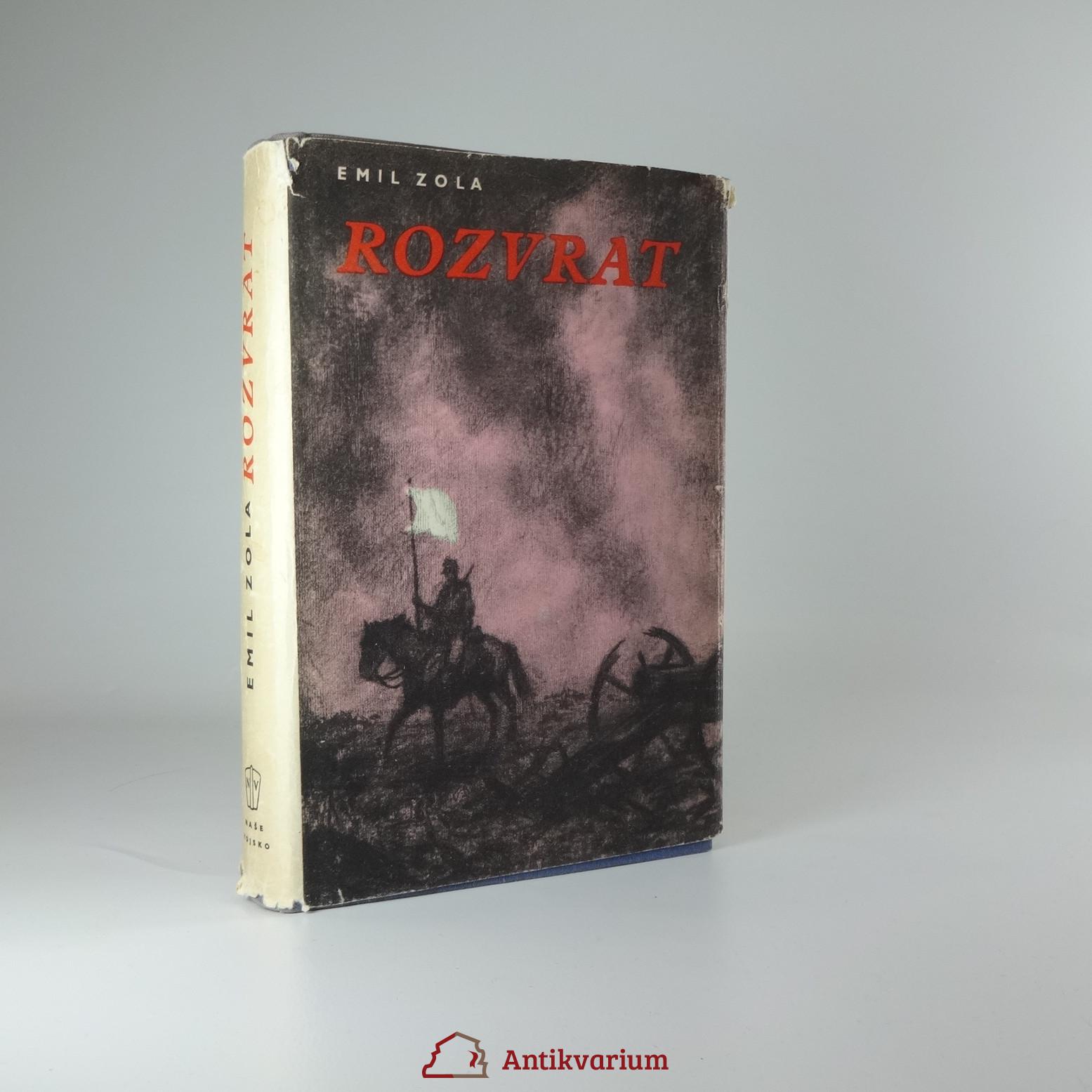 antikvární kniha Rozvrat, 1957