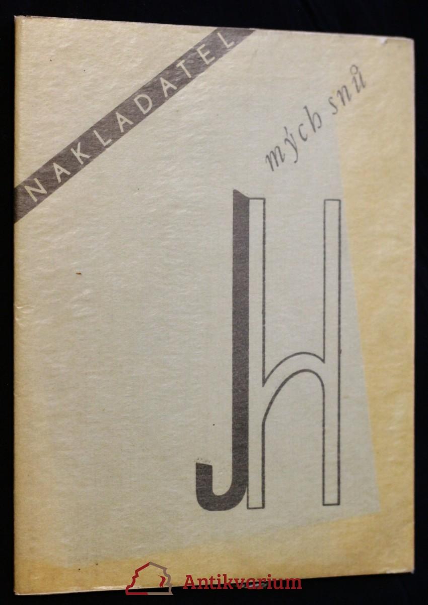 antikvární kniha Nakladatel mých snů, 1931-1932