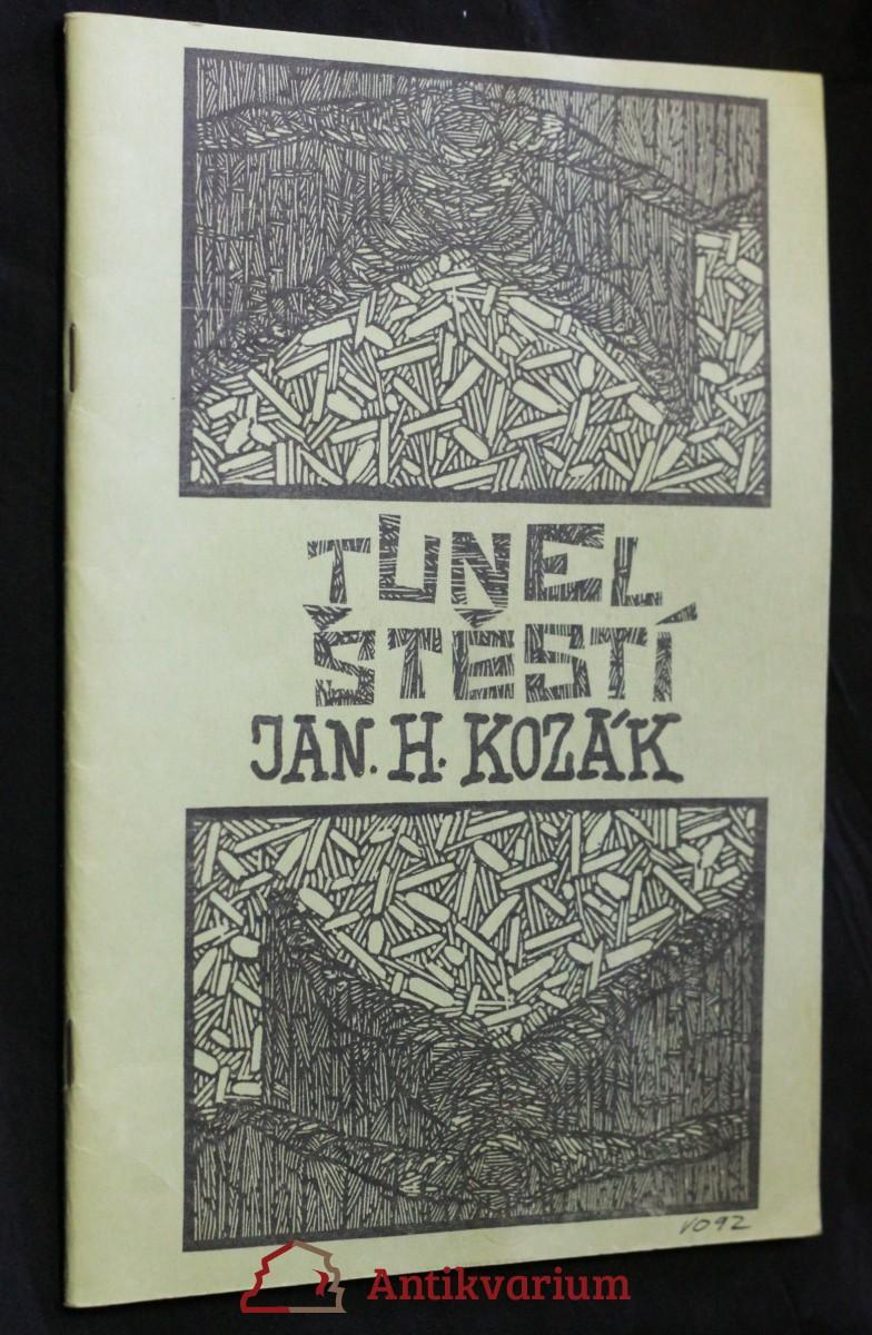 antikvární kniha Tunel štěstí, neuveden