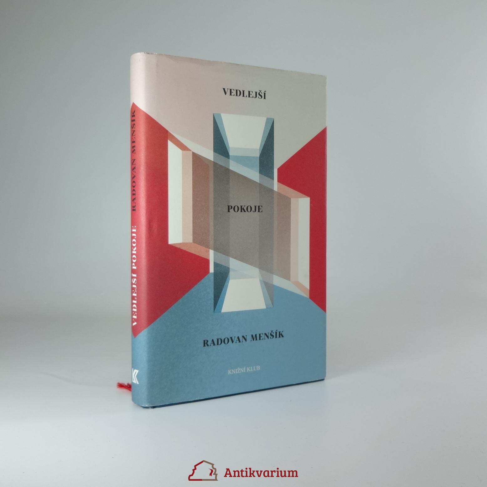 antikvární kniha Vedlejší pokoje, 2015