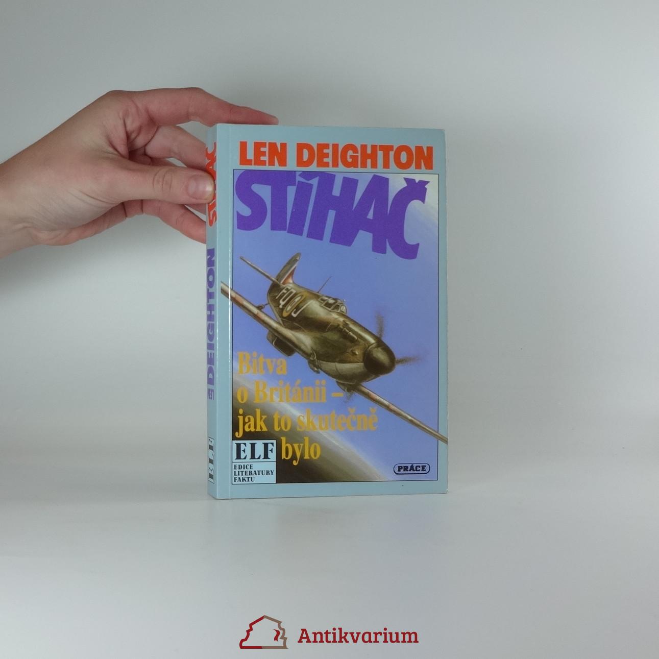 antikvární kniha Stíhač : Bitva o Británii - jak to skutečně bylo, 1993