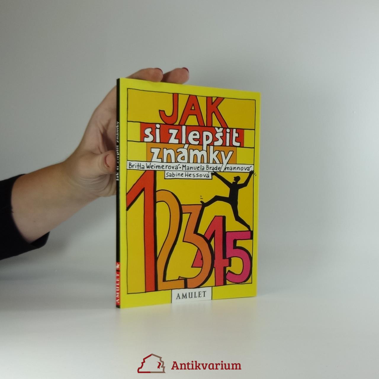 antikvární kniha Jak si zlepšit známky, 2002