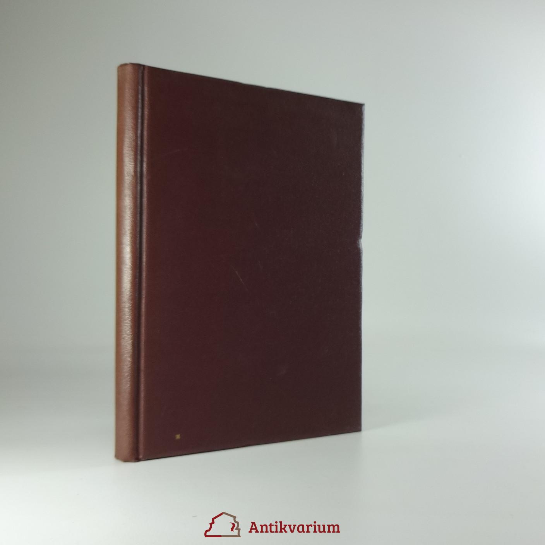 antikvární kniha Archeologické rozhledy, 1949