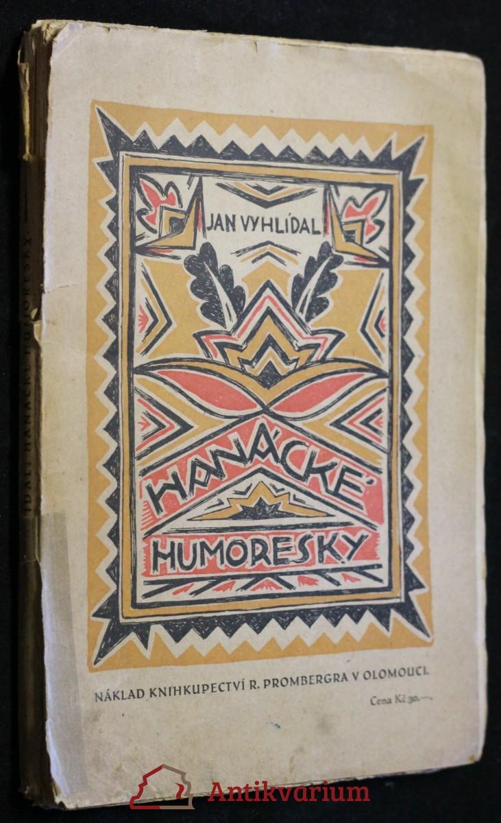 antikvární kniha Hanácké humoresky, neuveden