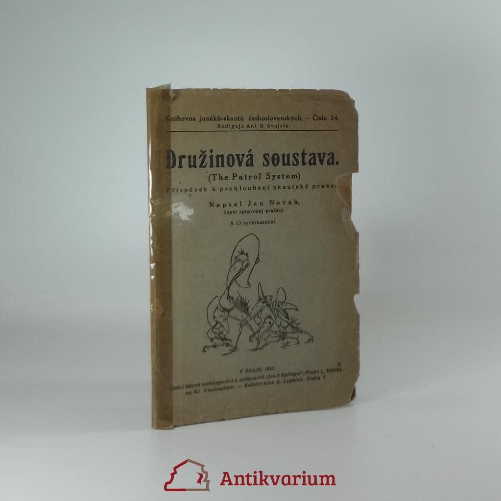 antikvární kniha Družinová soustava (The Patrol System), 1922