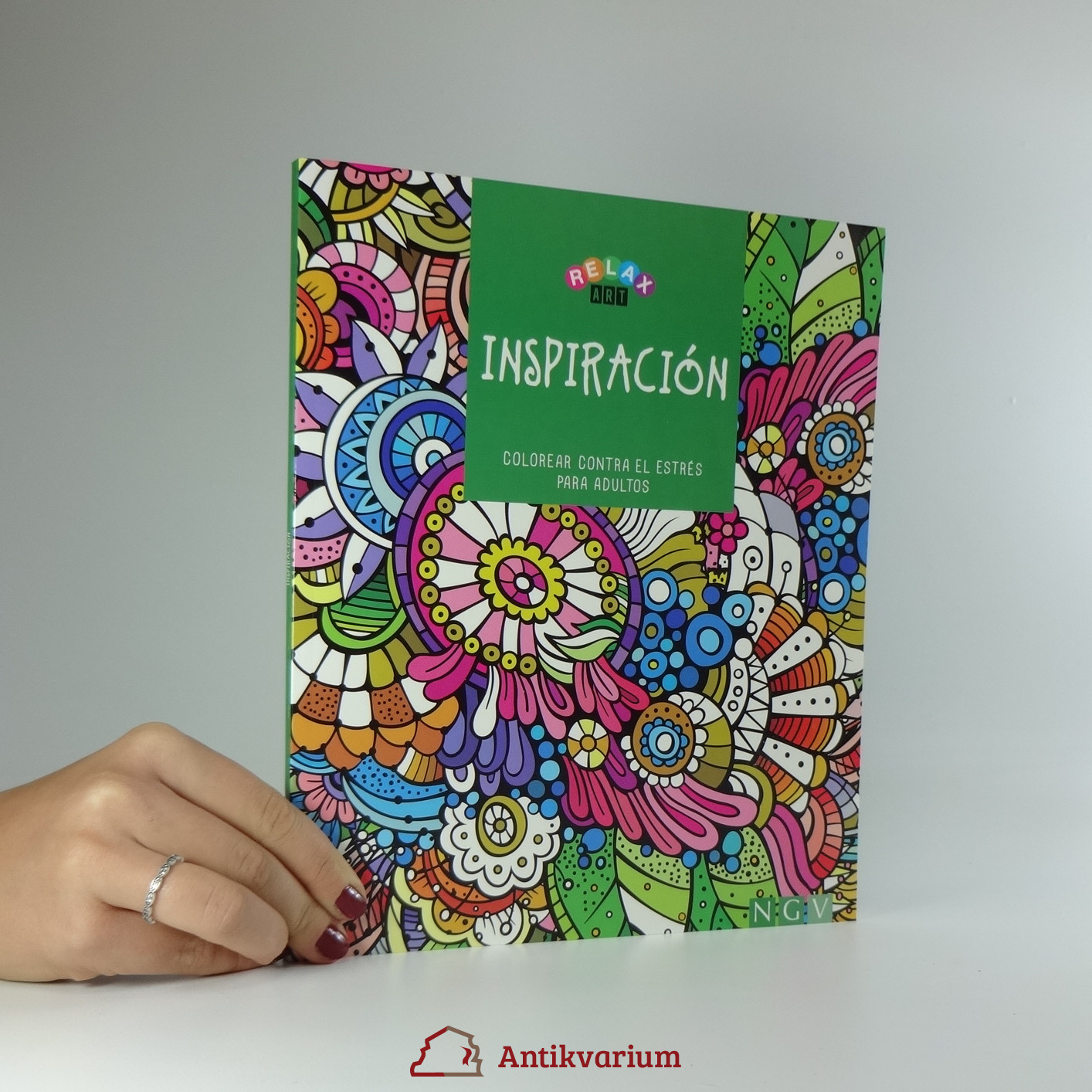 antikvární kniha Inspiración, 2005