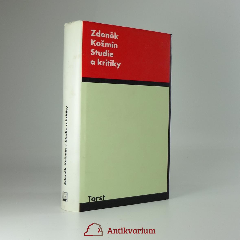 antikvární kniha Studie a kritiky, 1995