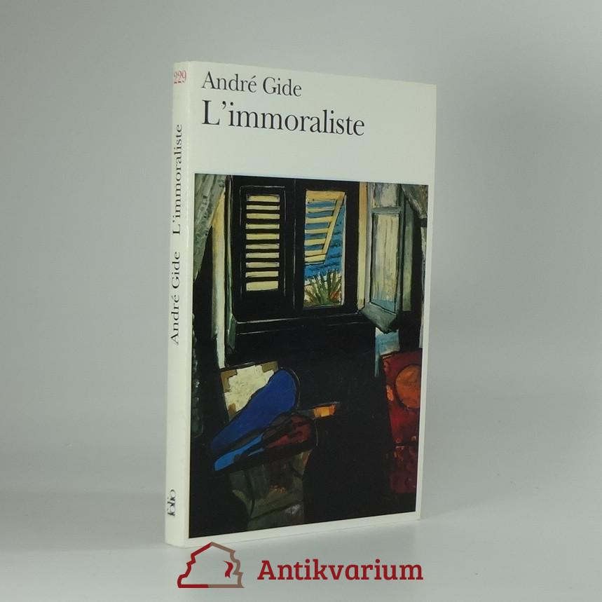 antikvární kniha L'immoraliste , 1972