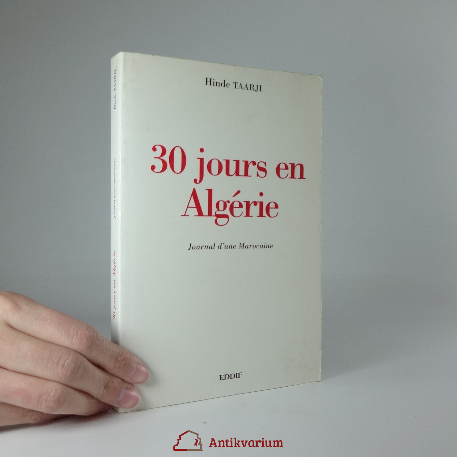 antikvární kniha 30 jours en Algérie, 1998