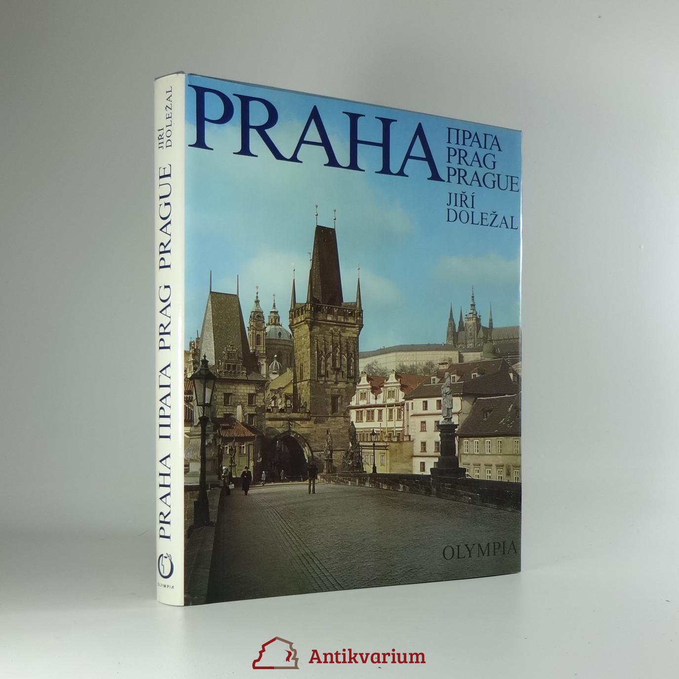 antikvární kniha Praha, 1978