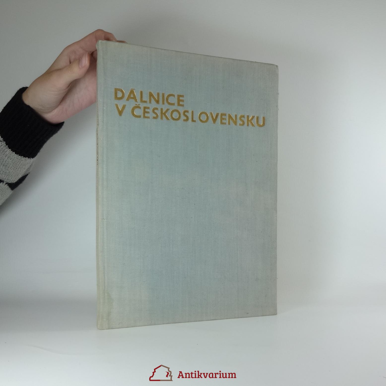 antikvární kniha Dálnice v Československu, 1970
